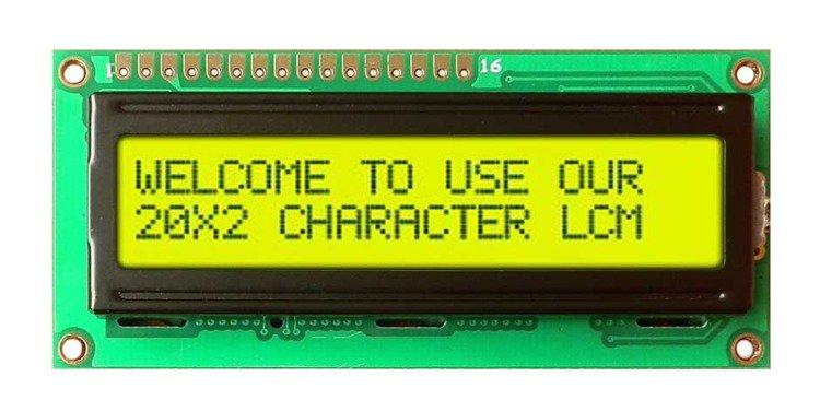 Wyświetlacz LCD QC1602B