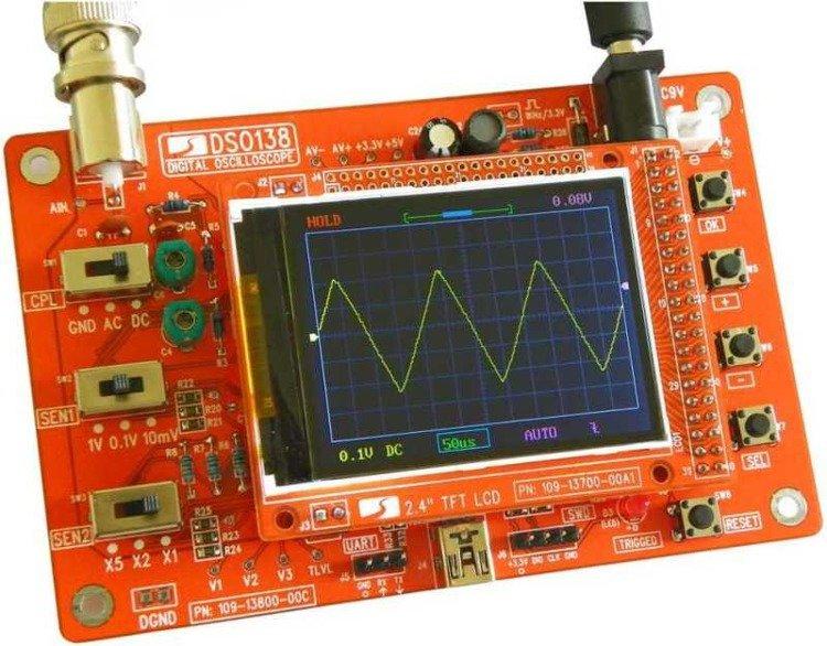 Oscyloskop cyfrowy LCD DSO138