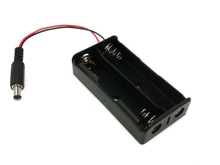 Koszyk na akumulator z wtykiem DC