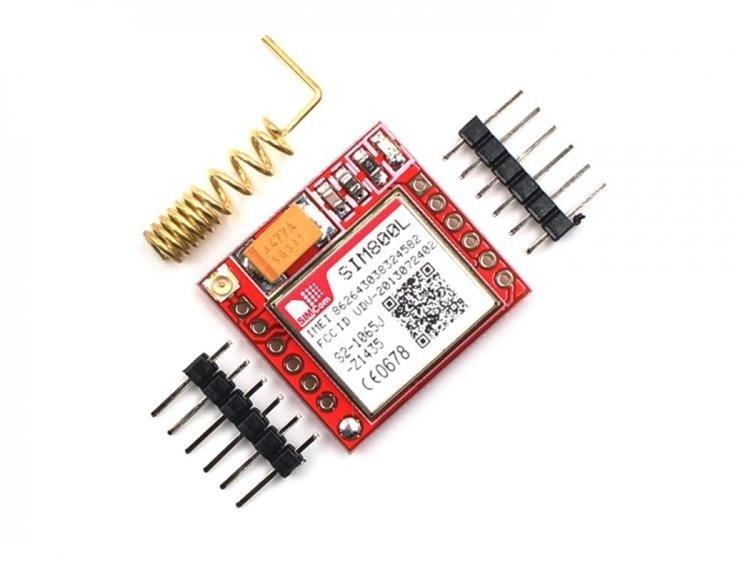 Miniaturowy moduł GSM SIM800L