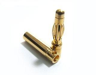 Wtyki gold 3mm konektory