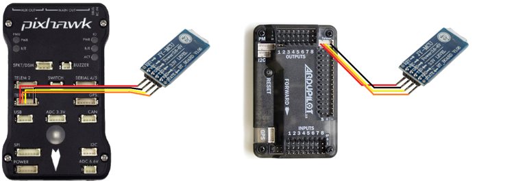 Bluetooth do ArduPilot APM 2.5 i 2.6