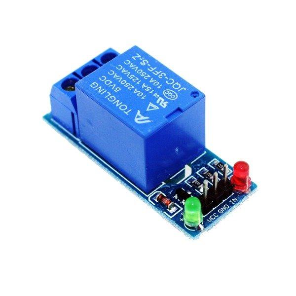 Moduł przekaźnika 1-kanał - 5V - 10A/250V - optoizolacja oraz kontrola LED