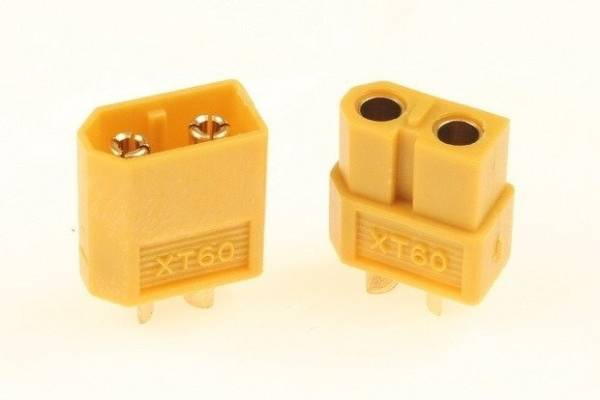 Wtyki XT60 - 1 para
