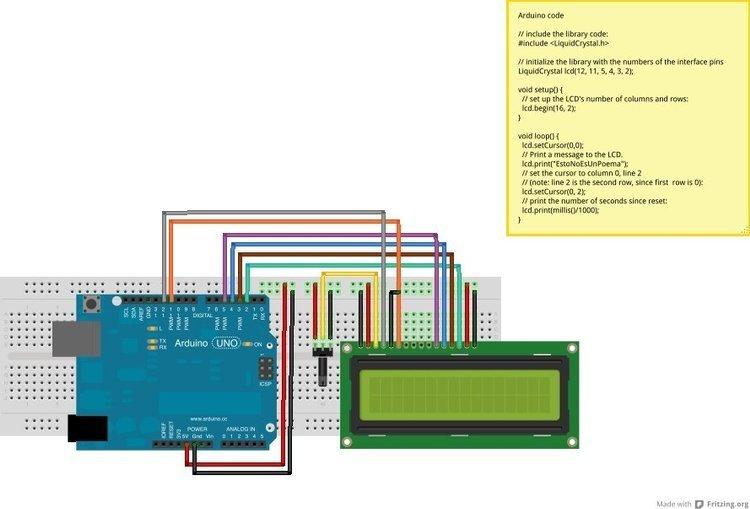 Wyświetlacz LCD 2x16 HD44780