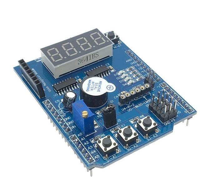 Wielofunkcyjny Shield do Arduino