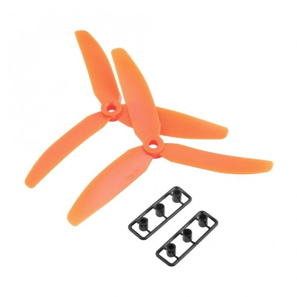 Śmigła LJI 5x3 x3-blades CW/CCW - orange