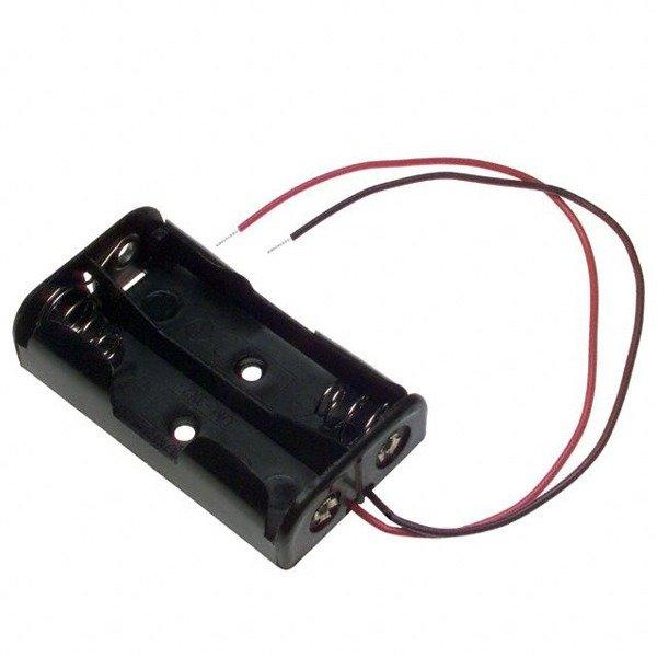 Koszyk na baterie 2xAA (R6)