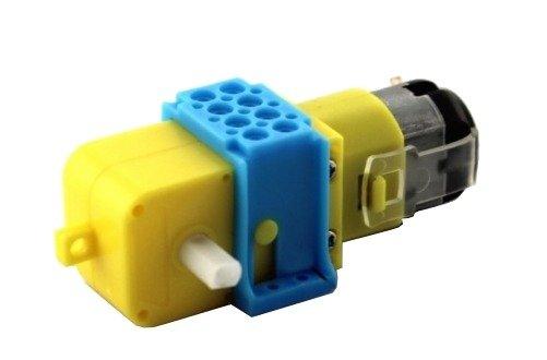 Plastikowy uchwyt na silnik TT