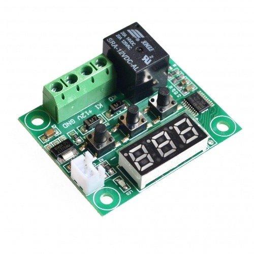 Cyfrowy Termostat W1209 - regulowany -50C +110C