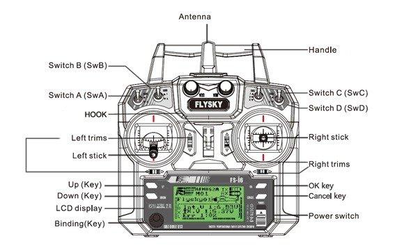 Aparatura FlySky FS-i6