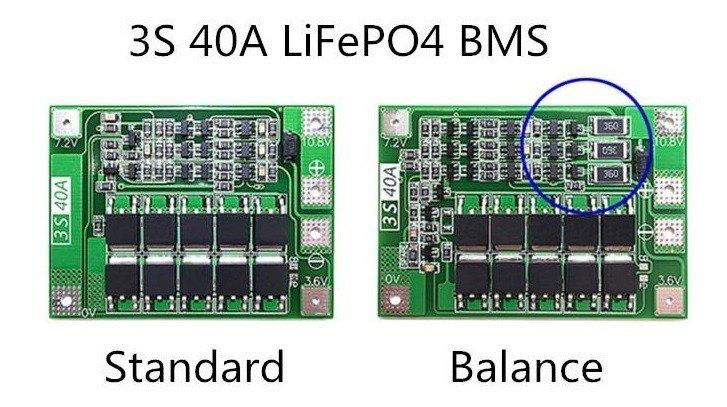 moduł BMS 3S