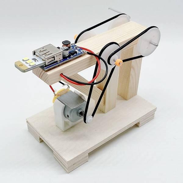 generator prądu kreatywny DIY