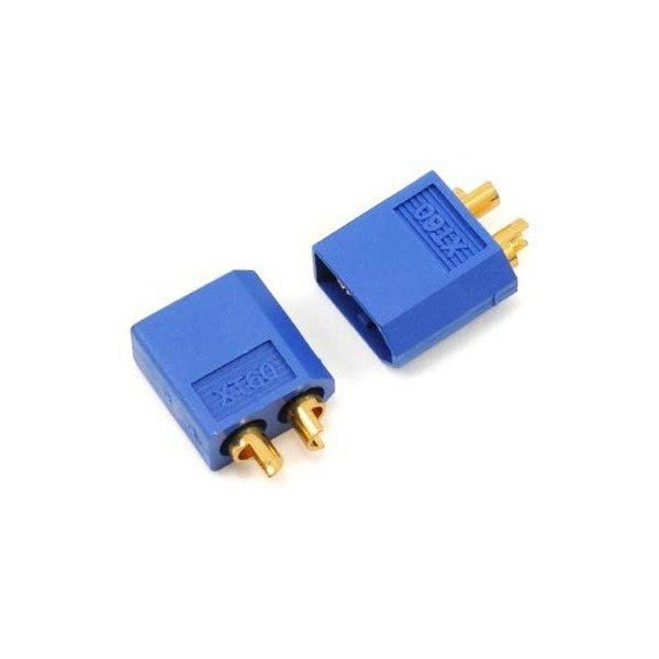 wtyk xt60-niebieski