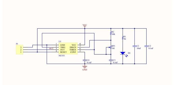 modul generatora ne555 maks 1,2ghz
