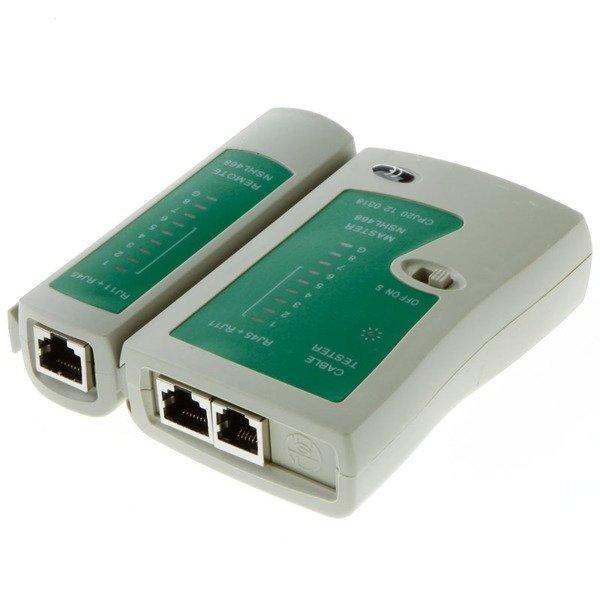 Tester kabli sieciowych