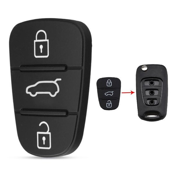przyciski do kluczyka