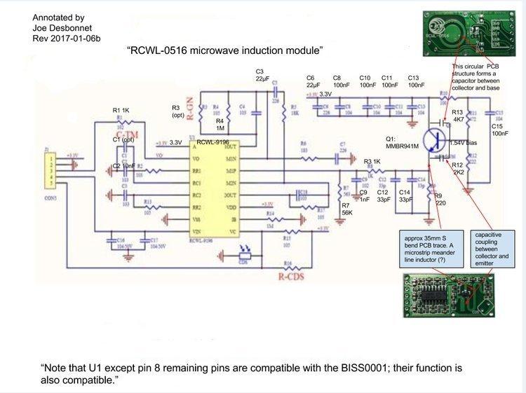 mikrofalowy sensor ruchu
