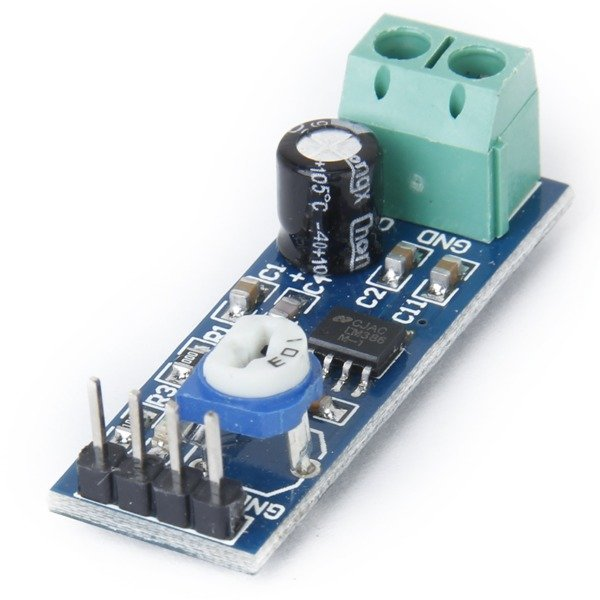 modul wzmacniacza audio lm386 - wejscie 10k