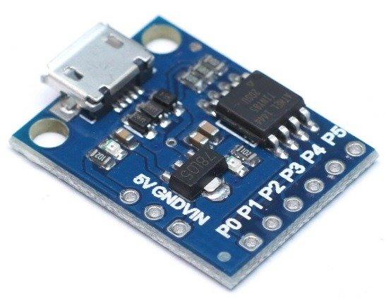 Miniaturowy moduł ATtiny85 USB zgodny z Arduino