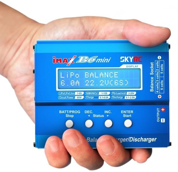 Ładowarka SkyRC iMax B6 Mini - 6A/60W-