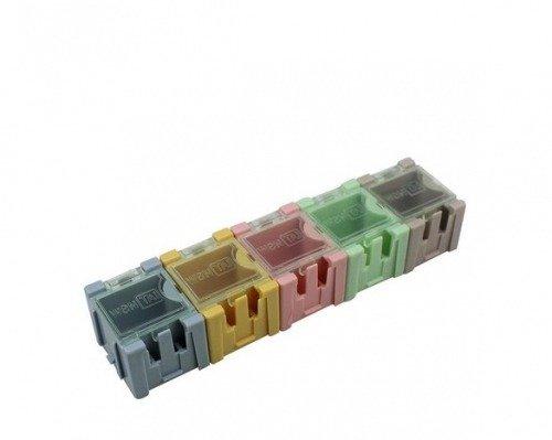 Mini pudełko do przechowywania elementów SMD