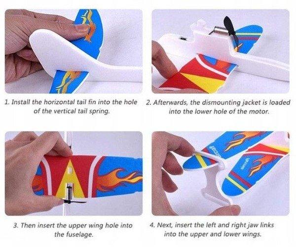 samolot dwupłatowy dla dzieci