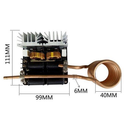 Piec indukcyjny ZVS 1000W
