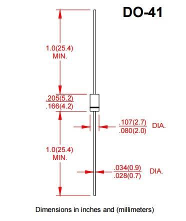 dioda-prostownicza 1a 1000v