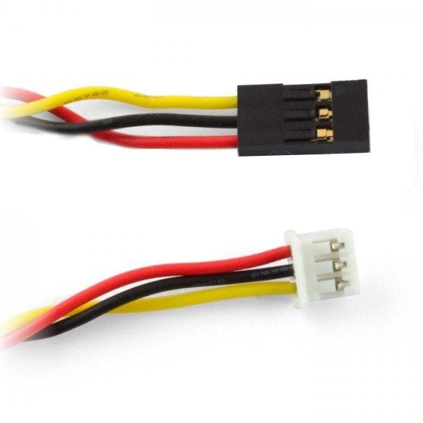 Kabel żeński  3 pin na micro jst