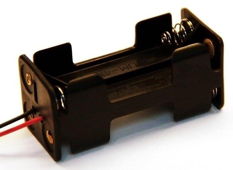 Koszyk na baterie 4Xaaa 1,5V
