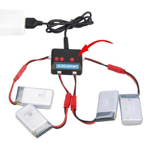 Przejście adapter JST  Molex 51005