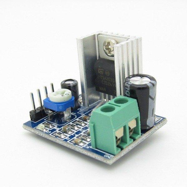 Wzmacniacz audio TDA2030 18W