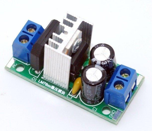 stabilizator AD / DC lm 7812