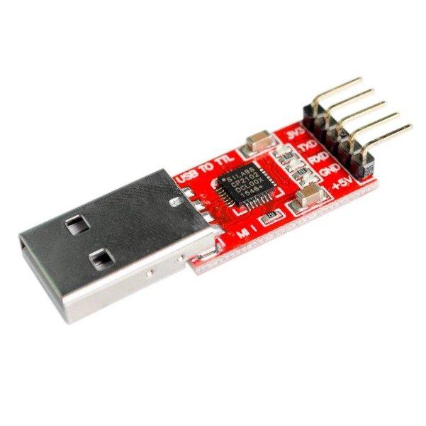 Konwerter USB - RS232/TTL/UART - wyjście 3,3V/5V