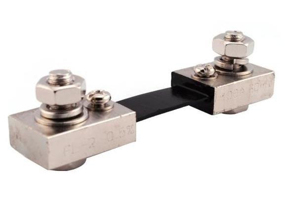 Bocznik pomiarowy prądu 100A - 75mV