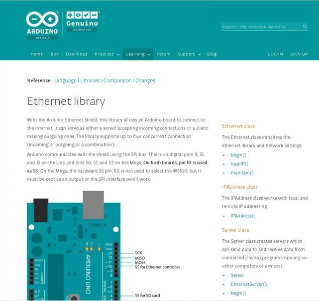 Ethernet Library