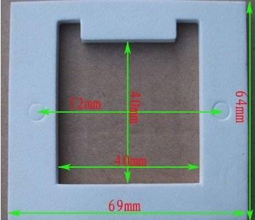 Izolacja cieplna do ogniwa peltiera tec1-12706