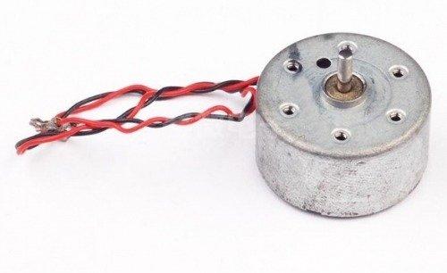 Mały silnik szczotkowy 5V - 25x12,5cm