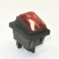 Przełącznik klawiszowy KCD4-R - 16A/250V