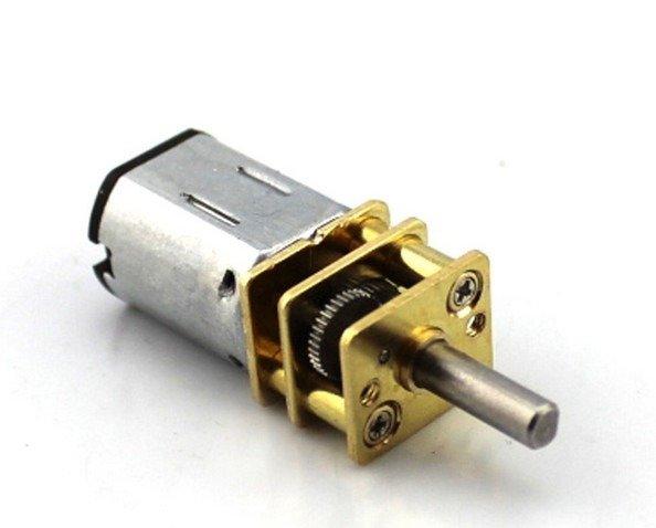 Mini silnik szczotkowy GA12-N20 - 300RPM - 1-6V z przekładnią