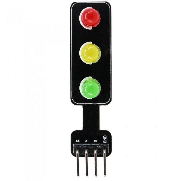 Moduł LED sygnalizacji świetlnej - 5V