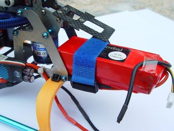 Opaska - rzep do mocowania akumulatora