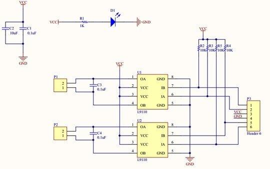 schemat modul