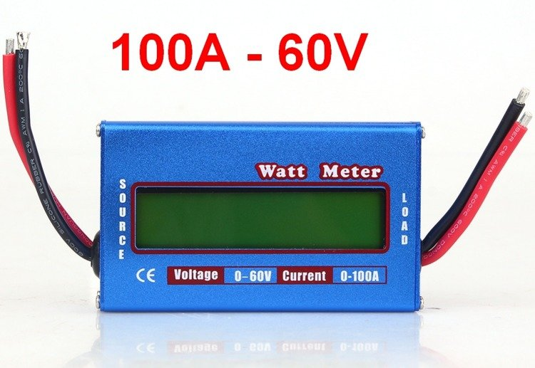 Miernik watt metter 100 a