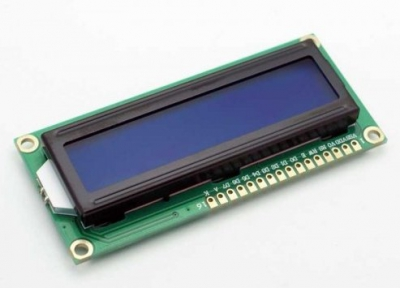 Wyświetlacz LCD 2x16 HD44780 - blue - alfanumeryczny LCD QC1602A