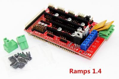 Drukarka 3D - kontroler RAMPS 1.4 RepRap - sterownik drukarki 3D - Shield Arduino