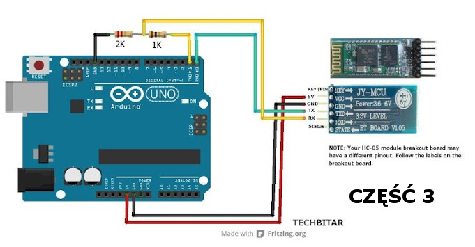 Bluetooth do Arduino i nie tylko - To proste! cz.3